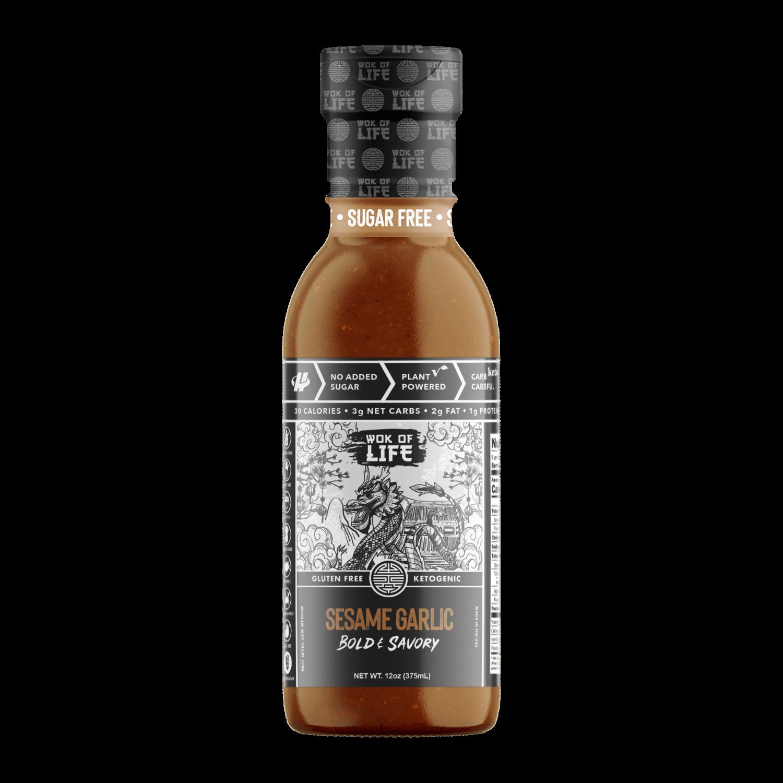 Sesame Garlic Sauce - Wok Sauce - Halo Healthy Tribes-01