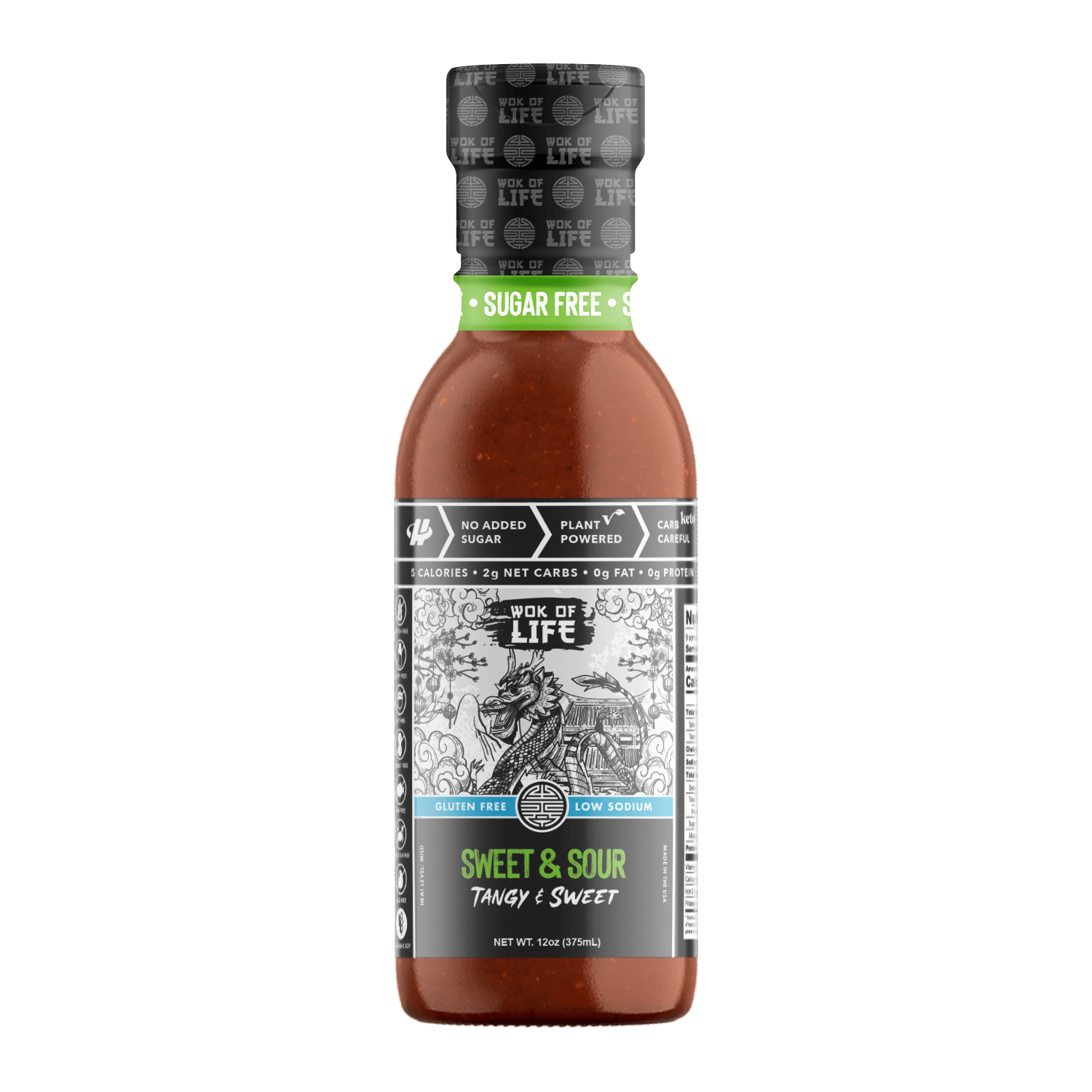 Sweet and Sour Sauce - Wok Sauce - Halo Healthy Tribes